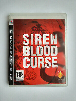 Siren: Blood Curse Playstation 3 PS3 Very Good Condition