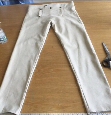 Regency Style Gentleman's Fall Front Pantaloons Made To Order