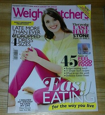 Weight Watchers Magazine #690. April 2014. Exclusive Meetings Edition.