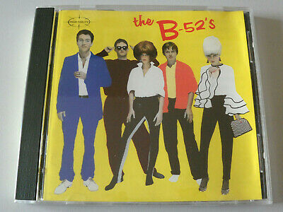 THE B-52'S by THE B-52'S CD 1979 Columbia IN A GOOD CONDITION FIRST EDITION RARE
