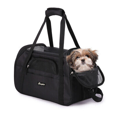 74e18ddb25 JESPET Soft Pet Carrier for Small Dogs, Cats, Puppies, Kittens,Airline  Approved