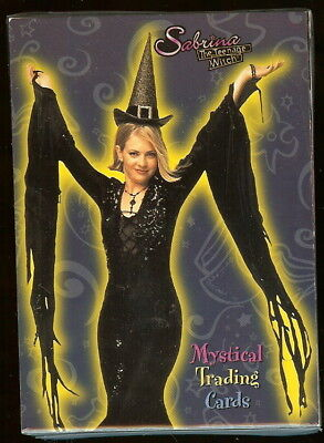 16 x SABRINA THE TEENAGE WITCH Mystical Trading Cards Full Box Dart Boxes