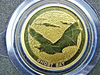2008 Australian Young Collectors UNCIRCULATED Ghost Bat $1 coin. Only 11,914!