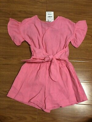 76594fe3db7e Zara Girls Soft Collection Girls Romper Pink Color Size 8
