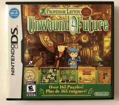 Professor Layton and the Unwound Future (Nintendo DS, 2010) Game FREE SHIPPING!