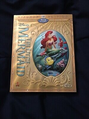 The Little Mermaid Diamond Edition Blu-ray and DVD (no Digital Code)