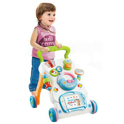 3 In 1 Baby Musical Walker Sit-to-Stand Infant Early Developmental Toy Gift