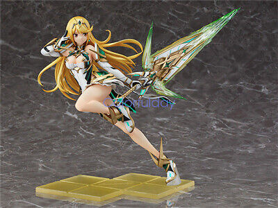 Anime Girl Xenoblade Chronicles 2 Mythra Hikari PVC Figure New IN Box Beautiful