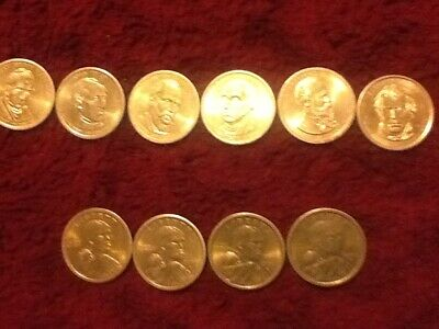 10 US Gold Dollar Coins