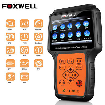 Automotive Scanner Multi-System Diagnostic Tool ABS Airbag SRS BRT Injector TPMS