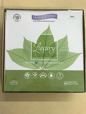 Protect-a-Bed Luxury (Tencel) Waterproof Mattress Protector Twin Size