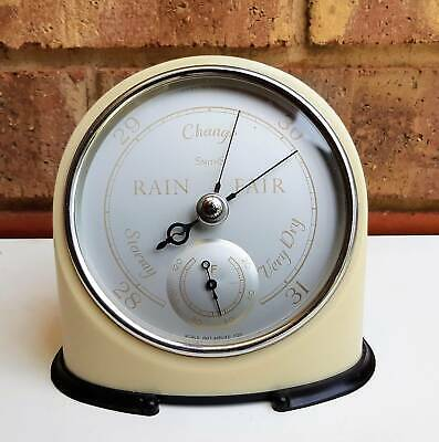 Vintage Art Deco SmithS England Weather Station