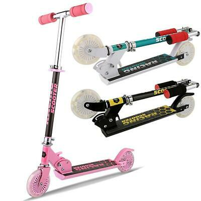 Folding Kick Scooter Sport Portable Adjustable Ride Exercise Street Kids