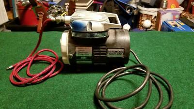 Badger 180-11 Portable Airbrush Air Compressor for AIRBRUSH 9 foot hose