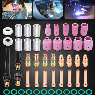 Nozzle Glass Cup Kit  Soldering Accessories Welding Torch Stubby Jointing Group
