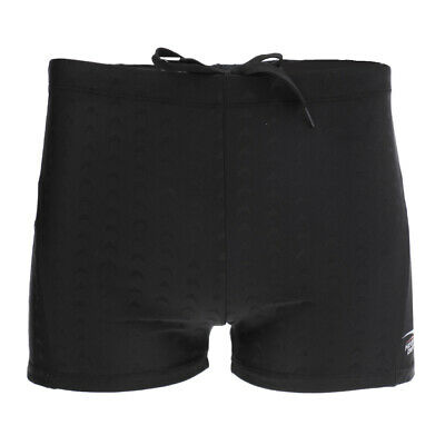 Men's Swim Boxer Briefs Square Leg Swimwear Trunks Shorts Breathable Quick Dry