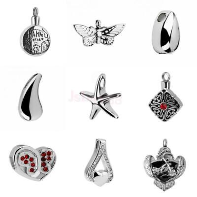 Cremation Pet Ashes Holder Urn Memorial Keepsake Pendant Jewelry for Necklace