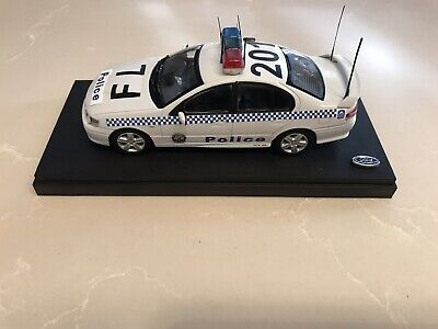 Biante 1:43 Ford BA Falcon XR8 White Highway Patrol Modified NSW Police Car