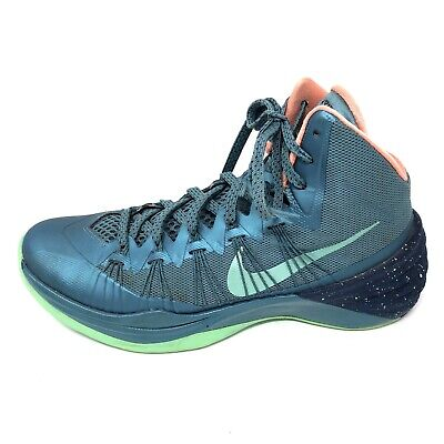 separation shoes bac77 b2f68 Nike Mens Hyperdunk 2013 Mineral Teal Green Glow 599537-303 Size 8