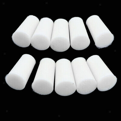 10Pcs White Rubber Stopper Bungs for Flask Test Tubes Laboratory 8mm to 22mm