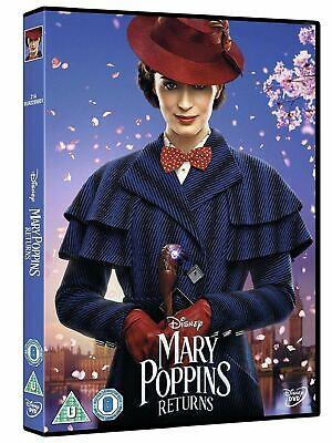 Mary Poppins Returns DVD. New and sealed. Fast & Free delivery