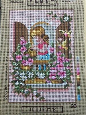 Tapestry - Printed Canvas - Juliette - Made in France LUC