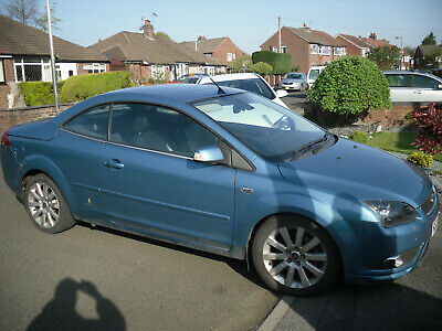 2007 Ford Focus Convertible 2.0 Tdci For Spares Or Repairs