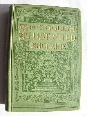 ENGLISH ILLUSTRATED MAGAZINE 1886-87 Farjeon du Maurier Hugh Thomson Hop-Picking
