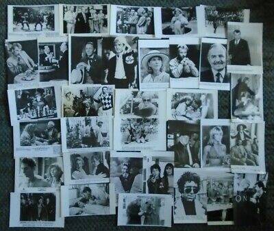 52 VARIOUS FILM PRESS PHOTOS of the FILM STARS Two lots to see, cut to odd sizes