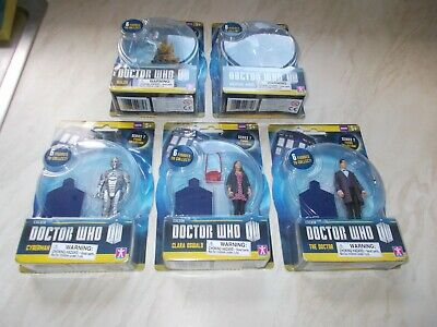"""Doctor Who 3.75"""" Action Figures Job Lot Bundle Series 7 by Character Options NEW"""