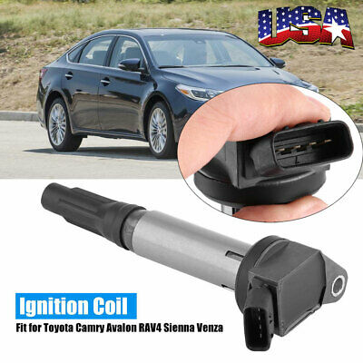 Ignition Coil 90919-A2002 For 2007-2010 Toyota Camry Avalon Sienna Venza 3.5L V6