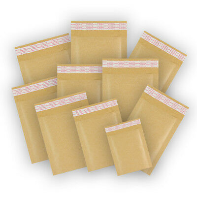 "Gold Quality Padded Bubble Envelopes Bags ""All Sizes/Qty's"" - Cheap Prices"