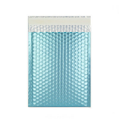 Metallic Padded Bags Envelopes 'All Sizes' All Courier - Ice Blue Cheaper Mailer