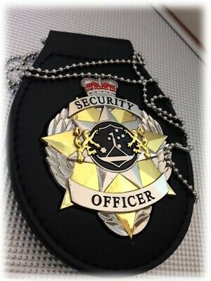 Security Badge Executive with Belt Holder Recessed - Delivery Included