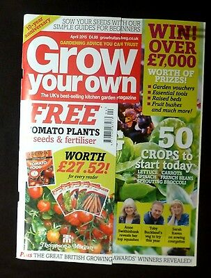 Grow Your Own, April 2015, Get set to harvest your best fruit and veg.