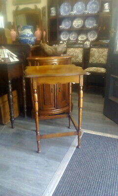 Antique Light Oak Occasionall Side Table