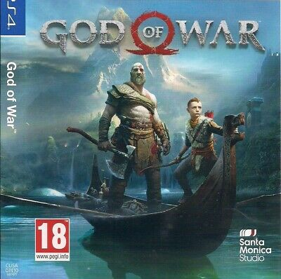 God Of War Per Play Station 4 Ps4 - Italiano Come Nuovo