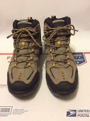 4c840d7ede7 SKECHERS WATERPROOF Hiking Boots Morson-Gelson #65124 Tan Men's Size 8M NWB
