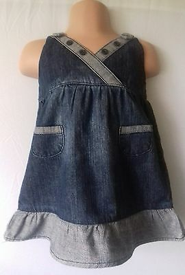 Cherokee age 6/9 months girls denim dress. FAST POSTAGE