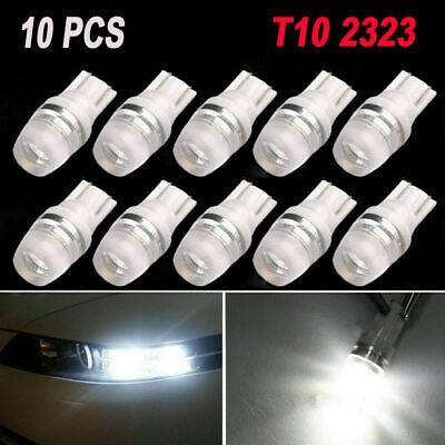 10pcs/set 12V W5W 192 168 194 Super White High Power T10 Wedge LED Light Bulbs
