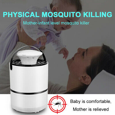 5AF5 UV Light Mosquito Trap Repellent Bug Summer Durable Mosquito Killer Lamp