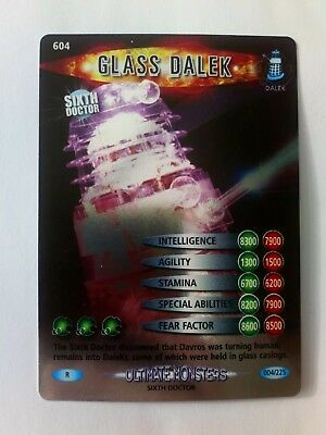 Dr who Glass Dalek #004/225 Holo Rare Ultimate Monsters Card 2008 NM/M