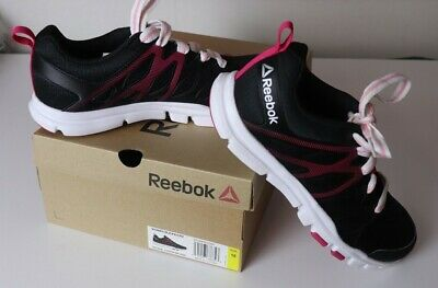 "Reebok ""Yourflex Trainette Sc"" Womens Black Lite Cool Mesh Athletic Shoes Sz10"