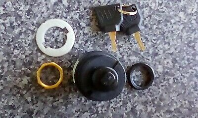 Genuine Jcb Ignition Switch And 2 Genuine Jcb Keys (Part# 701/80184 701/45500)