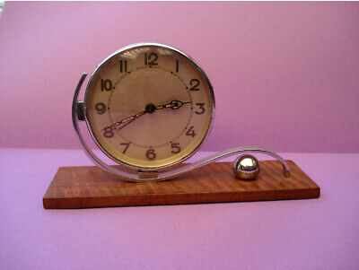 Art Deco alarm clock, working