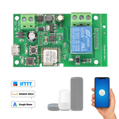 New DC5V/7-32V Wifi Switch Relay Module Timer Switch Home Automation AH534