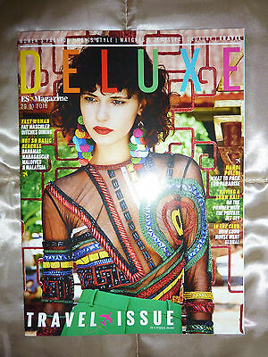 ES Deluxe Magazine TRAVEL ISSUE 29 January 2016 29th, new, unread