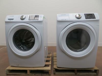 SAMSUNG ELECTRIC WHT Front Load Washer & Dyer WF42H5000AW / DV42H5000EW