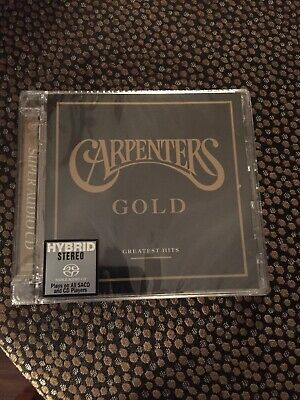 The Carpenters - Gold: Greatest Hits - SACD / hybrid cd - limited ed no. 0348