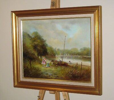 TED DYER Oil Painting St Anthony in Meneage Harbour, Cornwall *SPECIAL OFFER*